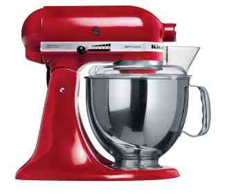 KitchenAid Artisan KSM160 models all include both 4.8L and 2.8L bowls as standard