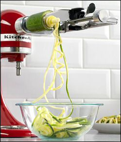New Vegetable Spiralizer Attachment